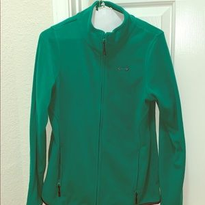 Oakley fleece zip up jacket